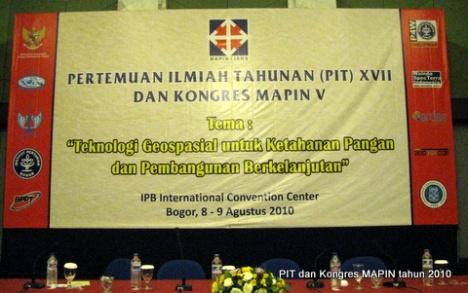 PIT dan Kongres MAPIN tahun 2010