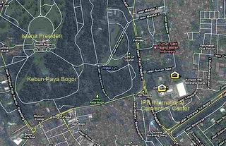 Lokasi Kongres PIT MAPIN 2010