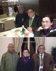 Ditemani Ibu Nining, Pak Indro dan Mahmud Bertemu di Roma