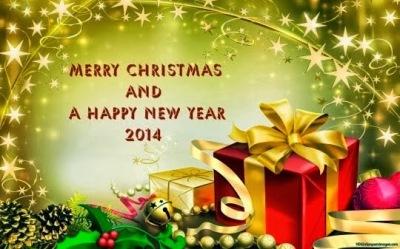 Gambar Kartu Ucapan Natal dan Tahun Baru 2014 6